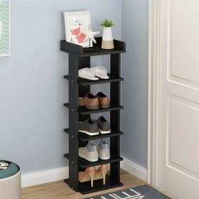 Lts 竹の靴の棚多層靴の棚シンプルなdustroof多機能フロアラック。 - 棚の靴 (Color : C, サイズ : 252772CM)