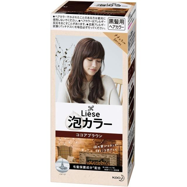 リーゼ 泡カラー ココアブラウン 108ml 【医薬部外品】