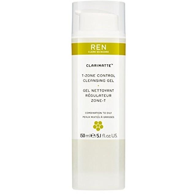 Ren Clarimatte Tゾーンコントロールクレンジングジェル、150ミリリットル (REN) - REN Clarimatte T-Zone Control Cleansing Gel, 150ml [並行輸入品]