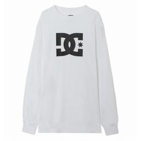 【クイックシルバー:トップス】【DC ディーシー公式通販】ディーシー (DC SHOES)19 STAR LS Tシャツ 長袖 クルーネック ロゴ
