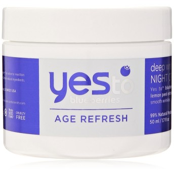 Yes to Blueberries Deep Wrinkle Night Cream, 1.7 Ounce by Yes to Blueberries [並行輸入品]