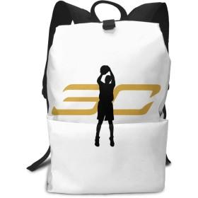 メンズ レディース リュックサック バスケ カリー 通勤 通学 人気 バックパック プリント リュック デイパック マザーズバッグ 大容量 多機能 かばん