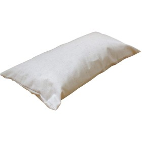 眠り姫 日本製 長座布団カバー ロング枕カバー 45 90 ツィード風 きなり 45×90cm ファスナー付 ネップ メール便発送