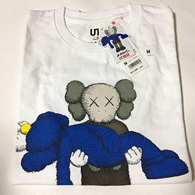 KAWS カウズ UNIQLO ユニクロ コラボ Tシャツ ホワイト Mサイズ 半袖