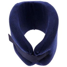 【頚椎ヘルニア】【ムチウチ】頸椎固定用 ソフトカラー:ブルー (L)