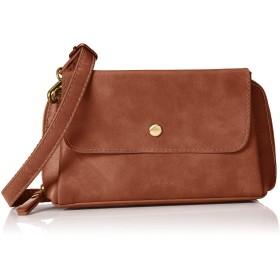 [レガートラルゴ] お財布ショルダーバッグ LG-P0104 ポリッシュフェイクレザーお財布ショルダー キャメル