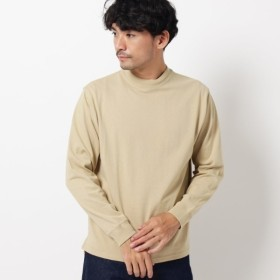 [マルイ] 【WEB限定】USAコットンモックネックロングTシャツユニセックスでオススメ!!/ザ ショップ ティーケー(メンズ)(THE SHOP TK Mens)