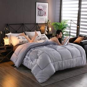 WCH 簡単なキルティング布団、寝室の部屋の子供部屋のための耐久の暖かいキルトのマットレス (Color : A, サイズ : 150x220cm(59x87inch))