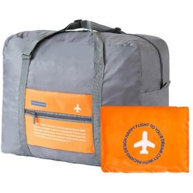 GudeHome 折り畳み式ボストンバッグ機内持ち込み旅行バッグ軽量収納荷物バッグ