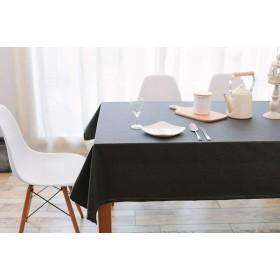 平野長方形テーブルクロス防水こぼれ防止オイルステイン綿とリネン生地簡単にきれいにするテーブルカバー用キッチンダイニングテーブルホテルカフェレストラン (サイズ さいず : 9090cm)