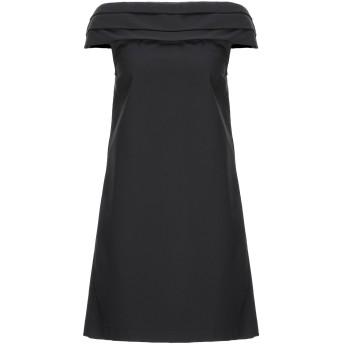 《セール開催中》ANIYE BY レディース ミニワンピース&ドレス ブラック 42 コットン 49% / ナイロン 44% / ポリウレタン 7%
