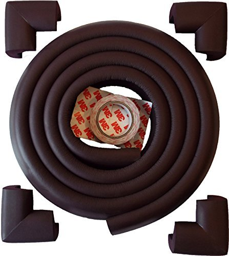 Cream Extra Thick /& Extra Density Cushions HOMETALE Edge Guard /& Corner Bumpers Value Pack 6.5 Feet Long