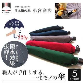 ミラトーレ折り畳み傘 50cmサイズ×8本骨(女性用)