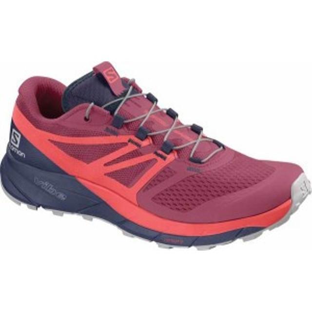 サロモン レディース スニーカー シューズ Sense Ride 2 Trail Running Shoe Malaga/Dubarry/Crown Blue
