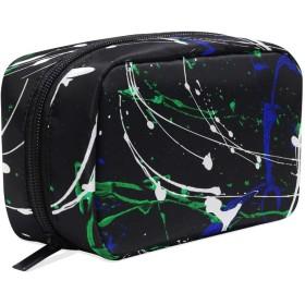 化粧品ポーチ ストライプ  仕切り付き 大容量 機能性 軽量 人気 収納バッグ  レディース トラベル 雑貨 小物入れ 防水 ストレージポーチ 携帯便利 日用品 旅行 出張用 メイクポーチ