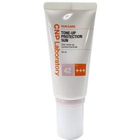CNP チャアンドパク トンオププロテクションサン・クリーム紫外線遮断剤 50ml (SPF42 / PA+++)、2019 NEW, CNP Tone-up Protection Sun Cream/韓国日焼け止め