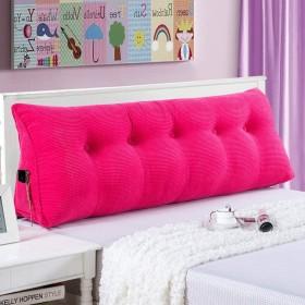 綿のベッドクッション、リムーバブルと洗える畳のソフトバッグダブルベッドのバックレスト (色 : B, サイズ さいず : 80  50CM)