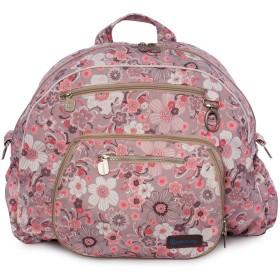 Gitta Jumbo Multi Function Baby Mom Nappy Changing Diaper Bag, Pink Flowers by Gitta