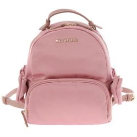 メゾンドフルール Maison de FLEUR サテンサイドリボンリュック (Pink)