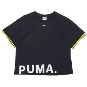 アトモス プーマ チェース コットン ティーシャツ レディース ブラック M 【atmos】