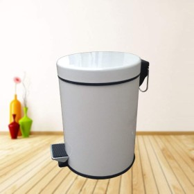 格好良いと耐久性のあるゴミ箱 ステップ式ゴミ箱家の中のステンレススチール製ゴミ箱 (Color : A)
