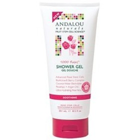 Soothing Shower Gel - 1000 Roses - 8.5 oz by Andalou Naturals