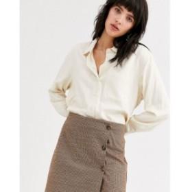 オンリー Only レディース ミニスカート スカート check mini skirt with buttons マルチカラー