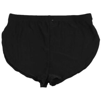 (ポクトロン) 男性 ファッション スポーツパンツ ショーツ 快適な ローウエスト 着心地良い パンティー(ブラック、ホワイト、グレー、コーヒー)