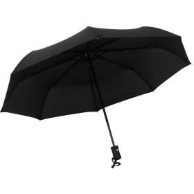 日傘 晴雨兼用 完全遮光 自動開閉 折りたたみ傘 折畳み傘 軽量 携帯用 ブラック(直径98センチ)