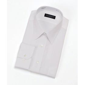 <アストウッド/ASTWOOD> 【紳士大きいサイズ】長袖白ドビーシャツ 201シロ 【三越・伊勢丹/公式】