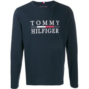 Tommy Hilfiger ロゴ Tシャツ - ブルー
