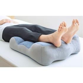 のびのび腰痛対策脚クッション - セシール ■カラー:スモーキーブルー