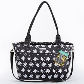 ベビーアスペン Baby Aspen 360度ポケット付き黒花柄多機能マザーズバッグ [並行輸入品]