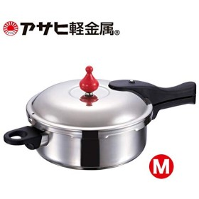 「ゼロ活力なべ M」3.0l 圧力鍋 アサヒ軽金属