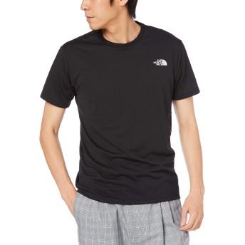 [ザ・ノース・フェイス] Tシャツ ショートスリーブバックサイドスクエアロゴティー メンズ ブラック 日本 L (日本サイズL相当)