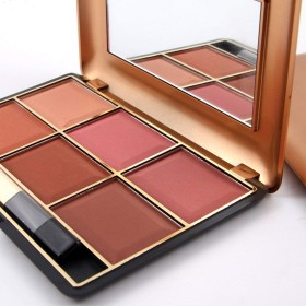 7004-014N Blush Makeup Cosmetic Natural Blusher Powder Palette Charming Cheek Color Makeup Face Blush