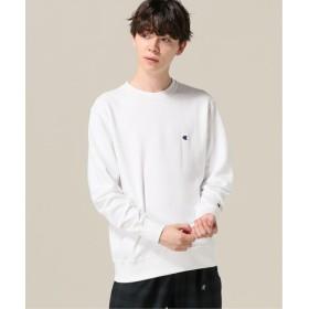 B.C STOCK 【Champion / チャンピオン】basic cn sweatshirt ホワイト XL