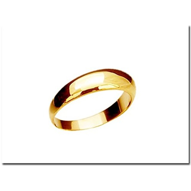 K18 指輪 鍛造(たんぞう) 月甲(つきこう)リング5mm5g ゴールドリング マリッジ 結婚 記念日 プレゼント オリジナル オーダーリング オリジナル マリッジ 結婚 指輪 記念 プレゼント(16号)