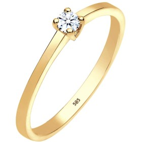 Diamore - Ring - Woman - Silver - 925/1000 - イエローゴールド - 14K(585) - ダイヤモンド - ホワイト - 0.1カラット。 - 0601742814_52