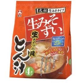 旭松食品 生みそずい生タイプ とん汁4食【袋入】 8袋