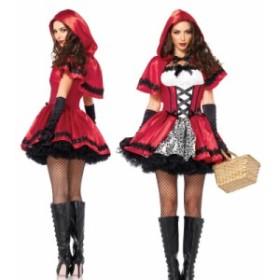 黒いグローブ 赤ずきん服 コスプレ衣装 ハロウィン