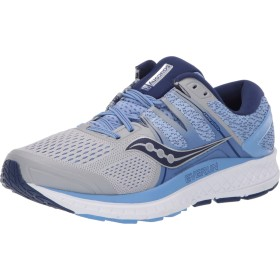 Saucony Omni ISO [S10443-1] Women Running Shoes Silver/Blue-Navy-065