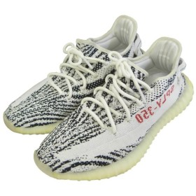 adidas originals by Kanye West 「YEEZY BOOST 350 V2」スニーカー ゼブラ サイズ:27cm (渋谷神南