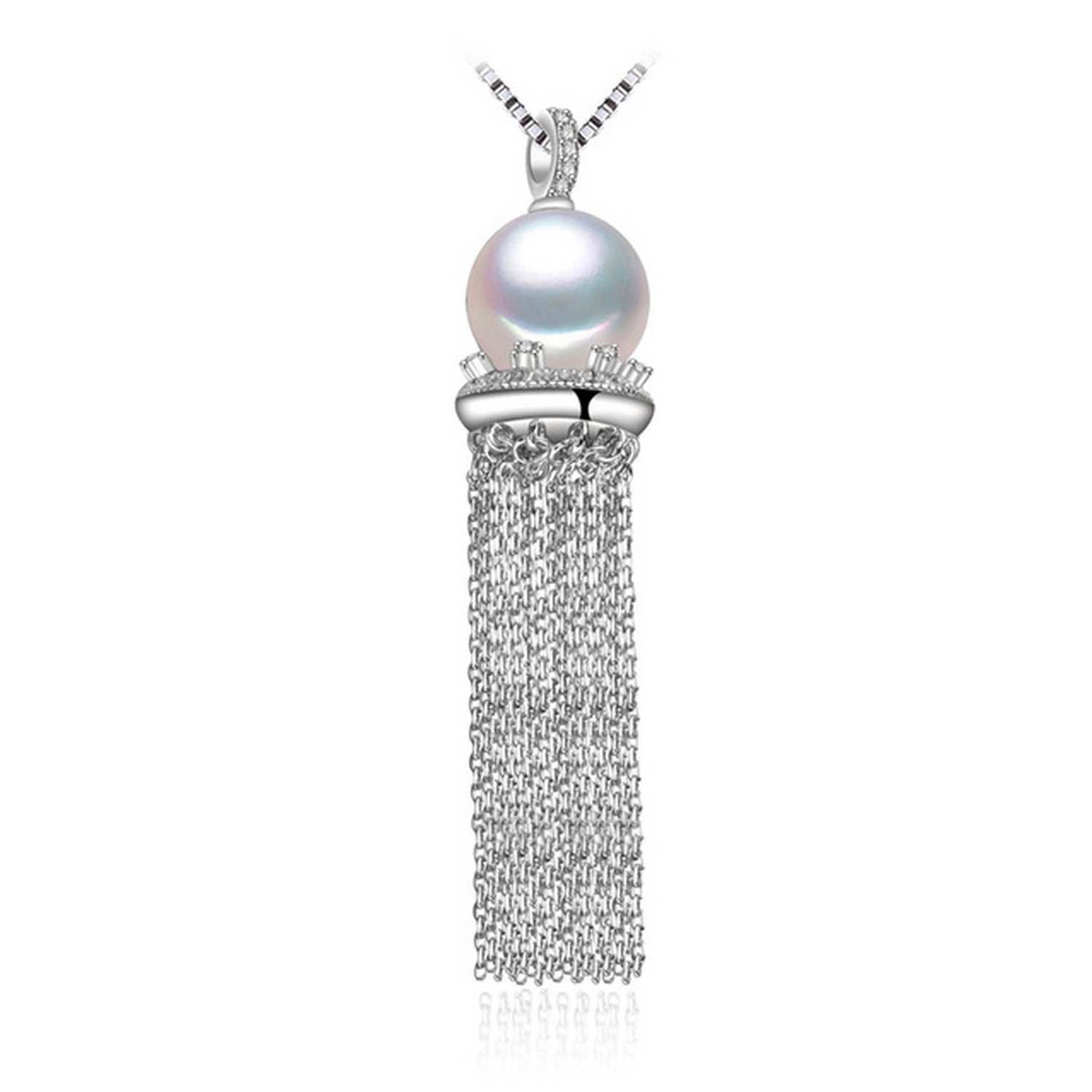 MMC Phoenix Pearl Silver Pendants Necklaces
