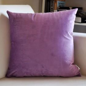 29-Haiyaosales ソフトテクスチャマットソファバックオフィスベッドサイドカーコードファブリックウエスト枕枕クッション (Color : 1, サイズ : 4545cm)