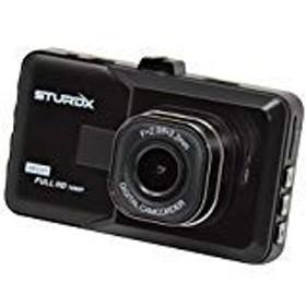 STURDX フルHD 広角ダッシュボードカメラ ダッシュカム Gセンサーループ録画内蔵