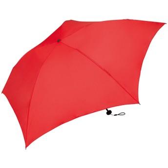 ワールドパーティー(Wpc.) 雨傘 折りたたみ傘 レッド 赤 55cm レディース メンズ ユニセックス 超軽量76g MSK55-050