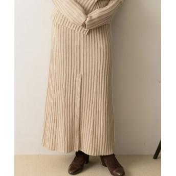URBAN RESEARCH(アーバンリサーチ) スカート スカート R JUBILEE Rib Slit Skirt【送料無料】