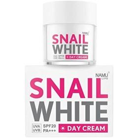 ナムライフスパイニイトデイクリーム50 ml ホワイトニング NAMU LIFE SNAILWHITE DAY CREAM 50 ml.