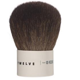 Twelve From Kent, Powder/Bronzer/Kabuki Travel Brush with Case (TWMU12) by Kent